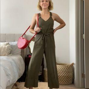 Billabong Green Jumpsuit